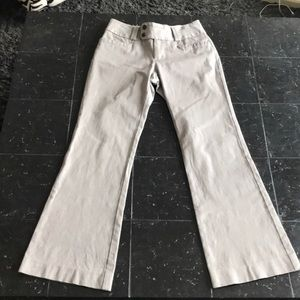 Gray Banana Republic Martin Fit Dress Pants